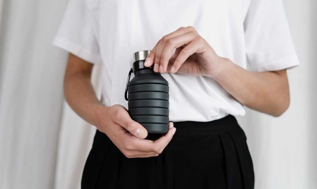 flexible water bottle